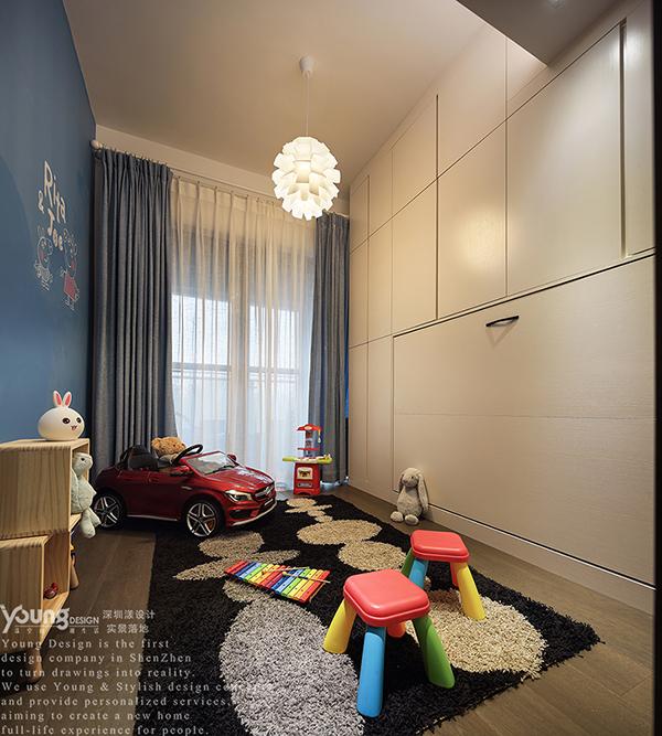 混搭 三居 收纳 小资 简约 儿童房图片来自漾设计在Young新作 | 现代工业风《薰》的分享