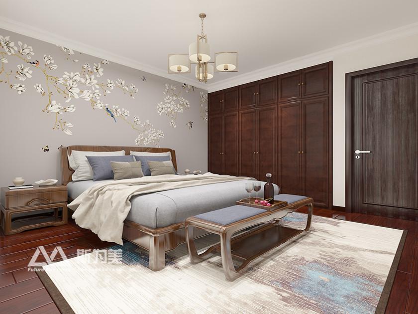 斯为美装饰 世茂悦海 新中式 卧室图片来自银川斯为美装饰在斯为美装饰 世茂悦海129平的分享