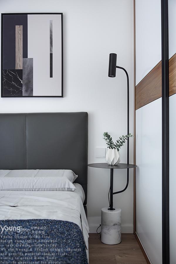 简约 三居 小资 旧房改造 卧室图片来自漾设计在Young新作   家中尽享舒适的分享