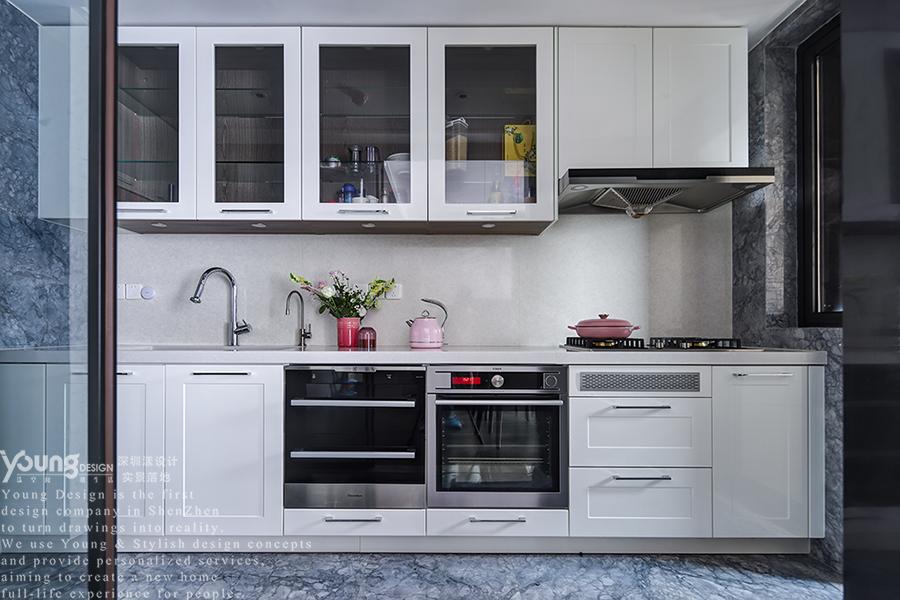 简约 小资 厨房图片来自漾设计在Young新作 | 华润城精装房改造的分享