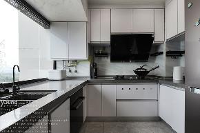 简约 三居 收纳 小资 旧房改造 厨房图片来自漾设计在Young新作 | 以至简诠释至美的分享
