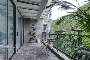 简约 三居 小资 旧房改造 阳台图片来自漾设计在Young新作 | 家中尽享舒适的分享