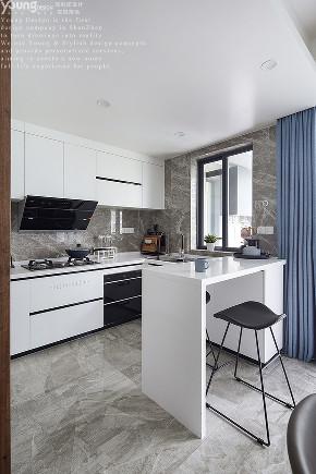 简约 三居 小资 旧房改造 厨房图片来自漾设计在Young新作 | 家中尽享舒适的分享