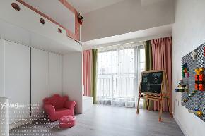 简约 三居 收纳 小资 旧房改造 儿童房图片来自漾设计在Young新作 | 以至简诠释至美的分享