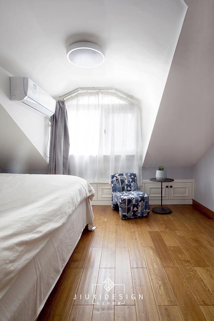 二居 收纳 旧房改造 久栖设计 家装 设计师 室内设计 装修 小户型 卧室图片来自久栖设计在北京朝阳北小街丨挑高户型急救术的分享