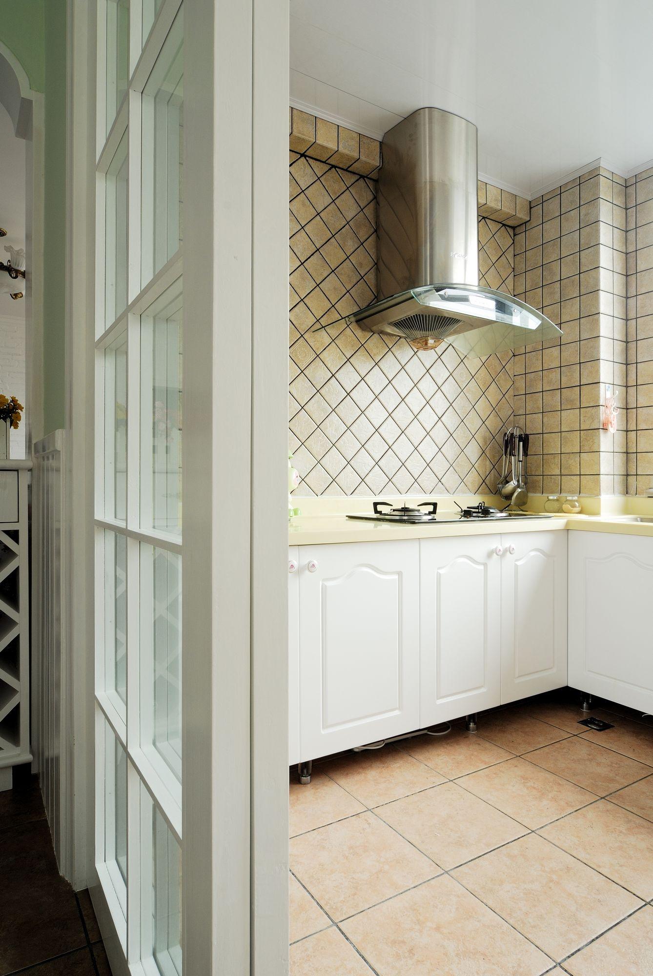 田园 白领 收纳 旧房改造 小资 80后 厨房图片来自今朝小伟在田园风格京杭府案例的分享