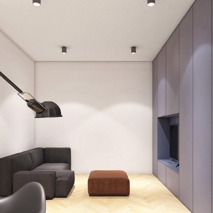 简约 白领 收纳 旧房改造 80后 客厅图片来自今朝小伟在75平现代简约风的分享