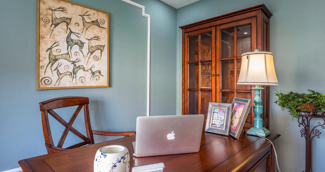混搭 二居 白领 收纳 旧房改造 80后 书房图片来自今朝小伟在华润仰山红叶林装修效果图的分享
