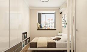简约 别墅 二居 白领 收纳 旧房改造 80后 小资 卧室图片来自今朝小伟在西山艺境现代简约装修效果图的分享