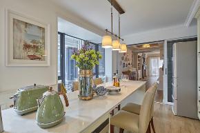 白领 收纳 旧房改造 80后 小资 餐厅图片来自今朝小伟在160平恬静温暖美式四居室的分享
