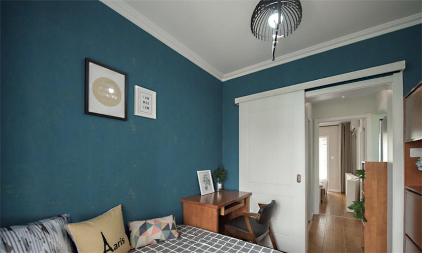简约 旧房改造 80后 小资 收纳 卧室图片来自今朝小伟在87平小户型三室两厅的分享