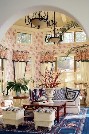 田园 白领 收纳 旧房改造 小资 80后 客厅图片来自今朝小伟在田园风格京杭府案例的分享