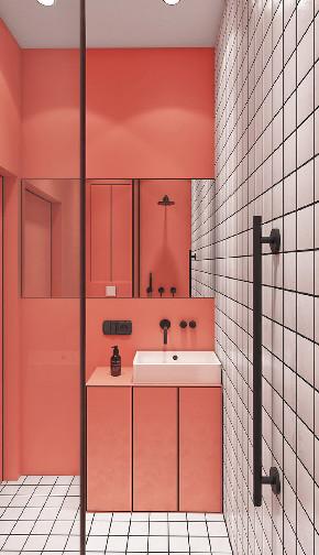 简约 白领 收纳 旧房改造 80后 卫生间图片来自今朝小伟在75平现代简约风的分享