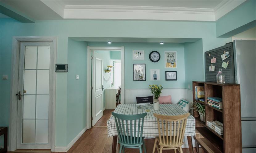 简约 旧房改造 80后 小资 收纳 餐厅图片来自今朝小伟在87平小户型三室两厅的分享