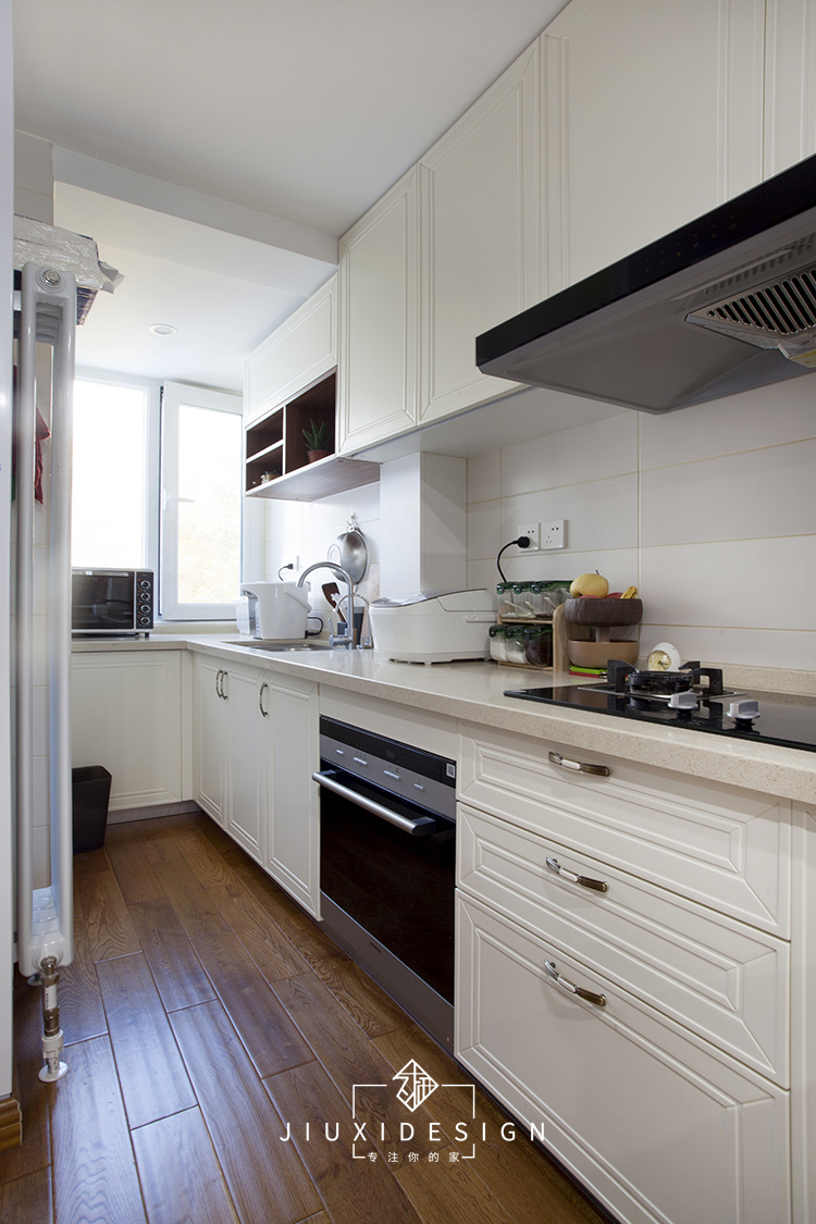 二居 收纳 旧房改造 久栖设计 家装 设计师 室内设计 装修 小户型 厨房图片来自久栖设计在北京朝阳北小街丨挑高户型急救术的分享