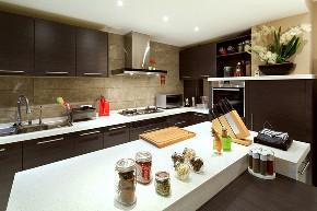 二居 简约 白领 收纳 旧房改造 80后 小资 厨房图片来自今朝小伟在简约时尚的木色-北京山语城的分享