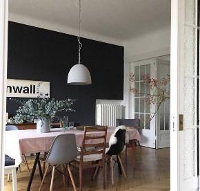 欧式 旧房改造 80后 小资 二居 餐厅图片来自今朝小伟在80平欧式文艺风家居的分享