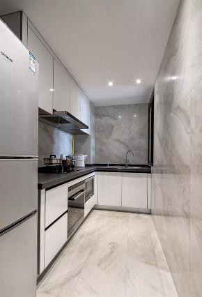 简约 二居 收纳 旧房改造 小资 厨房图片来自今朝小伟在72现代简约轻奢格调的分享