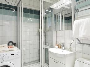 简约 二居 旧房改造 80后 小资 卫生间图片来自今朝小伟在85平两居室现代风的分享