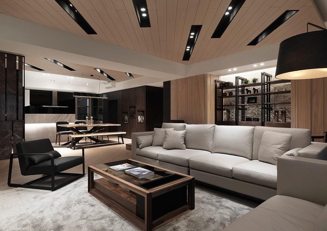 二居 简约 白领 收纳 旧房改造 80后 小资 客厅图片来自今朝小伟在简约时尚的木色-北京山语城的分享
