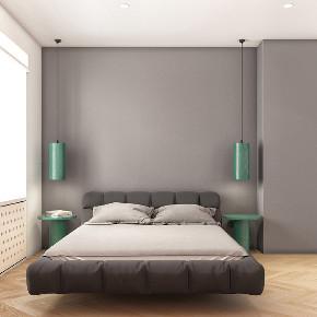 简约 白领 收纳 旧房改造 80后 卧室图片来自今朝小伟在75平现代简约风的分享