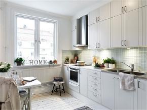 简约 二居 旧房改造 80后 小资 厨房图片来自今朝小伟在85平两居室现代风的分享