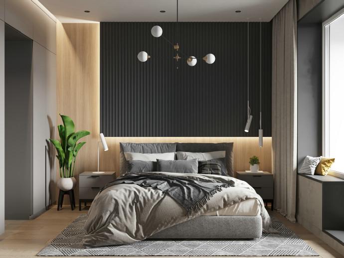 欧式 二居 白领 收纳 旧房改造 卧室图片来自今朝小伟在精简北欧,舒适而温馨的居住空间的分享
