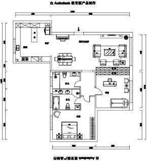 欧式 二居 白领 旧房改造 收纳 80后 小资 户型图图片来自今朝小伟在花语城北欧装修效果图的分享