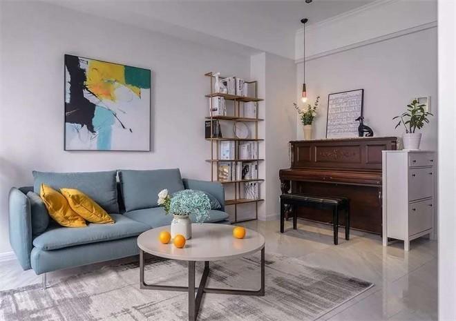 简约 白领 收纳 旧房改造 80后 小资 客厅图片来自今朝小伟在海淀黄庄系现代简约效果图的分享