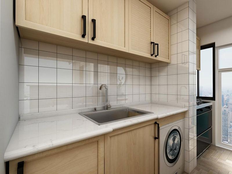 简约 二居 白领 收纳 旧房改造 80后 小资 厨房图片来自今朝小伟在北新桥香饵胡同现代简约风格的分享