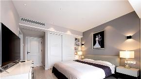 简约 二居 白领 收纳 旧房改造 80后 小资 卧室图片来自今朝小伟在东湖湾现代简约装修效果图的分享