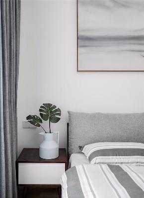 简约 二居 白领 收纳 旧房改造 80后 小资 卧室图片来自今朝小伟在美景东方现代简约风格效果图的分享