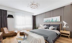 欧式 二居 白领 旧房改造 收纳 80后 小资 卧室图片来自今朝小伟在花语城北欧装修效果图的分享
