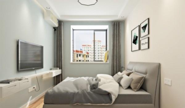 欧式 三居 白领 收纳 旧房改造 80后 小资 卧室图片来自今朝小伟在密云柏林山水北欧装修效果图的分享