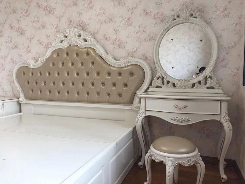 欧式 二居 白领 收纳 旧房改造 80后 小资 卧室图片来自今朝小伟在金第润苑北欧装修效果图的分享