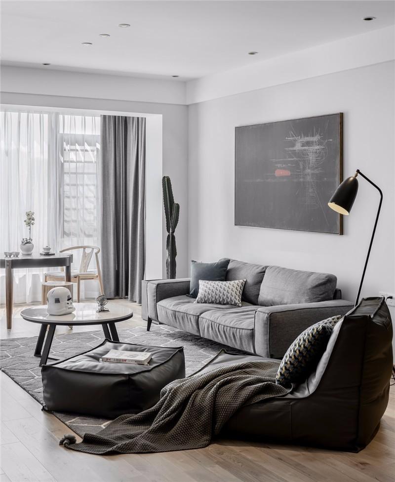 简约 二居 白领 收纳 旧房改造 80后 小资 客厅图片来自今朝小伟在美景东方现代简约风格效果图的分享