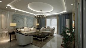 欧式 白领 收纳 旧房改造 80后 小资 客厅图片来自今朝小伟在金胜嘉怡家园欧式风格装修效果图的分享
