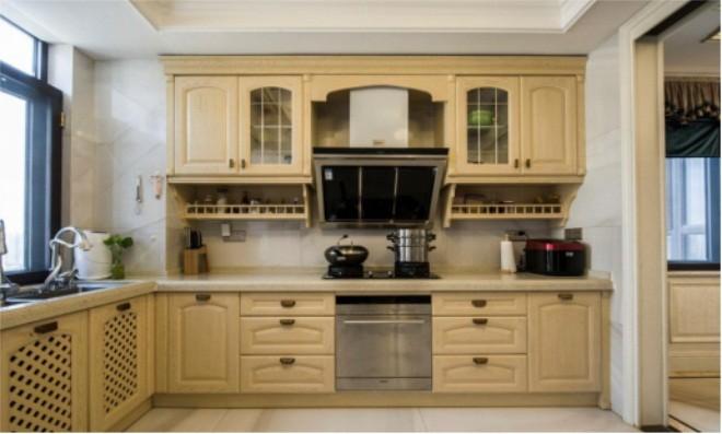 欧式 白领 收纳 旧房改造 80后 小资 厨房图片来自今朝小伟在金胜嘉怡家园欧式风格装修效果图的分享