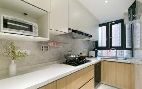 欧式 二居 白领 收纳 80后 小资 旧房改造 厨房图片来自今朝小伟在青年萌居北欧风格装修效果图的分享