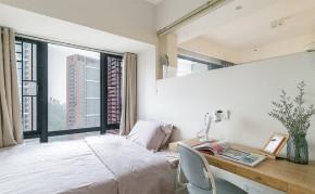 欧式 二居 白领 收纳 80后 小资 旧房改造 卧室图片来自今朝小伟在青年萌居北欧风格装修效果图的分享