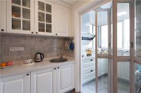 田园 二居 白领 旧房改造 收纳 80后 小资 厨房图片来自今朝小伟在南湖中园田园风格效果图的分享