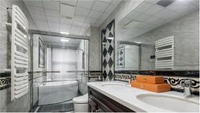 欧式 白领 收纳 旧房改造 80后 小资 卫生间图片来自今朝小伟在金胜嘉怡家园欧式风格装修效果图的分享