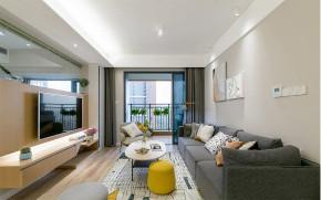 欧式 二居 白领 收纳 80后 小资 旧房改造 客厅图片来自今朝小伟在青年萌居北欧风格装修效果图的分享