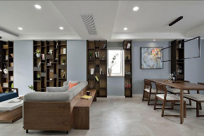 简约 白领 三居 收纳 旧房改造 80后 小资 书房图片来自今朝小伟在青青家园现代简约装修效果图的分享
