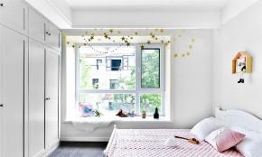 欧式 二居 白领 收纳 旧房改造 80后 小资 卧室图片来自今朝小伟在农大人才家园北欧风格装修效果图的分享