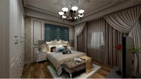欧式 白领 收纳 旧房改造 80后 小资 卧室图片来自今朝小伟在金胜嘉怡家园欧式风格装修效果图的分享