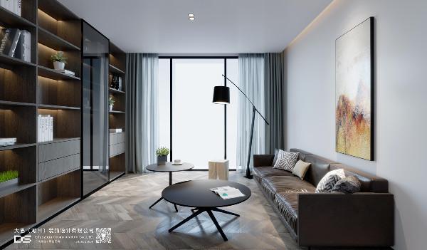 书房,一本万利的空间。 良好的采光,简约轻快的搭配,或坐或躺,以便更畅快的游阅书海。