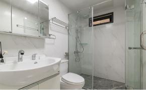 欧式 二居 白领 收纳 80后 小资 旧房改造 卫生间图片来自今朝小伟在青年萌居北欧风格装修效果图的分享