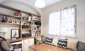 混搭 二居 白领 收纳 旧房改造 80后 小资 书房图片来自今朝小伟在美式山村田园混搭风格的分享