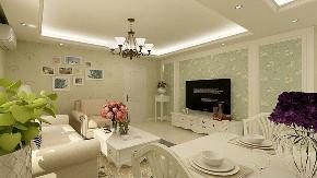 二居 收纳 旧房改造 80后 小资 白领 田园 客厅图片来自今朝小伟在罗庄西里田园风格效果图的分享